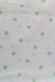telas en color blanco-verde