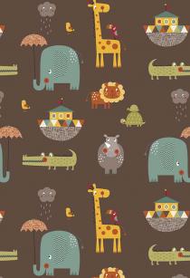 Tela Giraffe Crossing 2