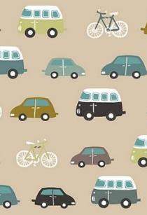 Tela de coches fondo beige